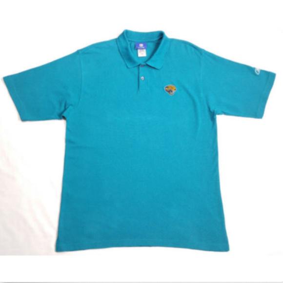 a6658b9c REEBOK Polo Shirt NFL Jacksonville Jaguars 1134E2